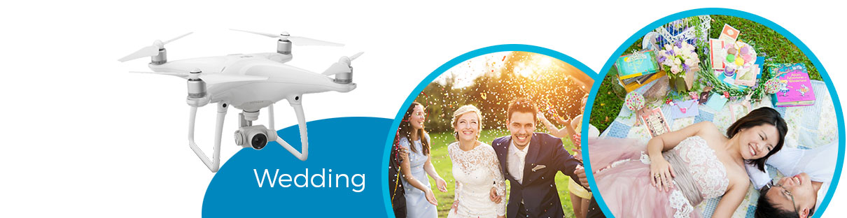 Aerial Wedding Photography Melbourne